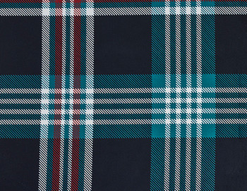 Glen Meadow Tartan Crate Cover