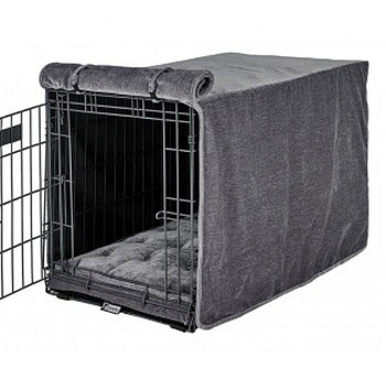 Pumice Microvelvet Crate Cover