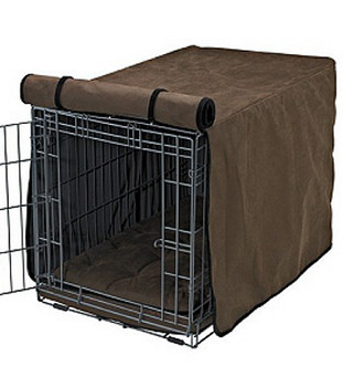 Cowboy Faux Leather Crate Cover