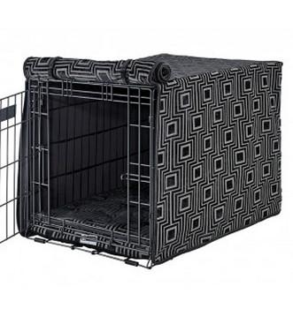 Twilight Micro Jacquard Crate Cover