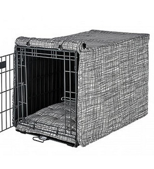 Tribeca Micro Jacquard Crate Cover