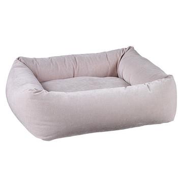 Blush Microvelvet Dutchie Pet Dog Bed