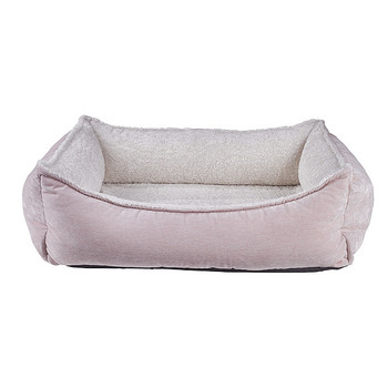 Blush Microvelvet Oslo Ortho Pet Dog Bed