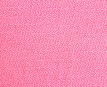 Flamingo Pink Bones Microvelvet