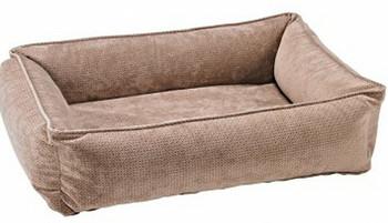 Cappuccino Treats Microvelvet Urban Lounger Pet Dog Bed