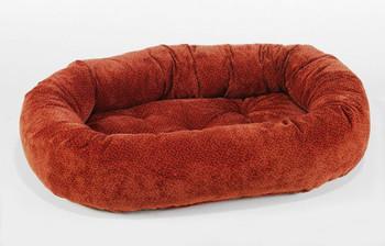 Cherry Bones Microvelvet Donut Pet Dog Bed