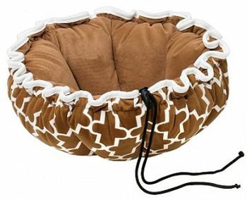 Cedar Lattice Buttercup Pet Dog or Cat Bed