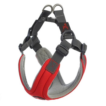 Escape Free Memory Foam Harness - Red