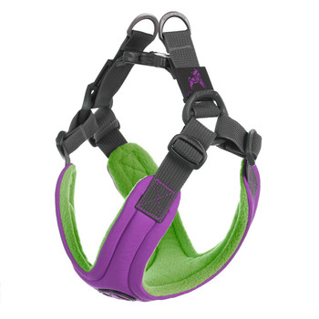 Escape Free Memory Foam Harness - Purple