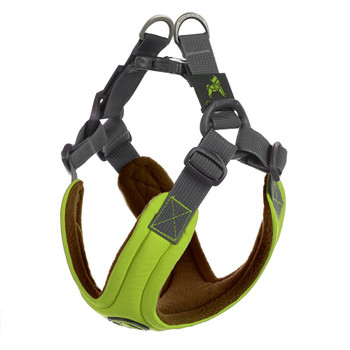 Escape Free Memory Foam Harness - Green