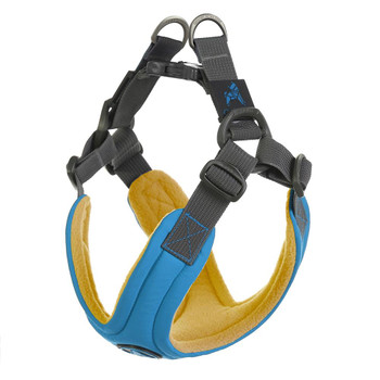 Escape Free Memory Foam Harness - Blue
