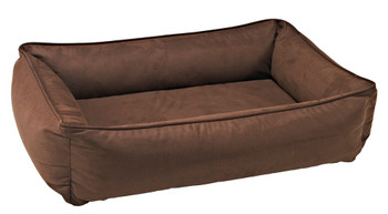 Cowboy Faux Leather Urban Lounger Pet Dog Bed