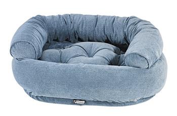 Bluestone Microvelvet Double Donut Pet Dog Bed