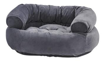 Amethyst Microvelvet Double Donut Pet Dog Bed