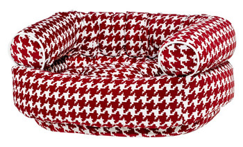 Canterbury Check Microvelvet Double Donut Pet Dog Bed