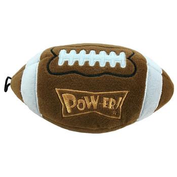 Power Plush Football - Pigskin Dog Toy