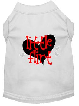 Little Flirt Screen Print Dog Shirt / Tank - 14 Colors