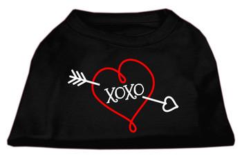 XOXO Screen Print Dog Shirt / Tank - 7 Colors