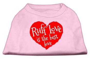 Ruff Love Screen Print Dog Shirt / Tank - 8 Colors