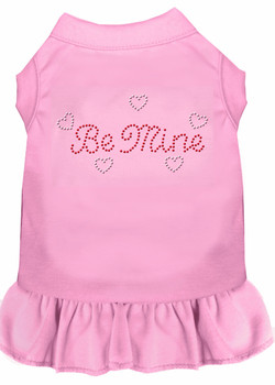 Be Mine Rhinestone Dog Dress - 4 Colors