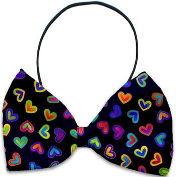 Bright Hearts Pet Dog Bow Tie