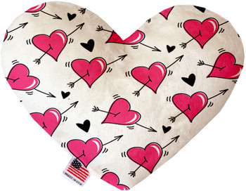 Heart Dog Toy - Hearts and Arrows, 2 Sizes