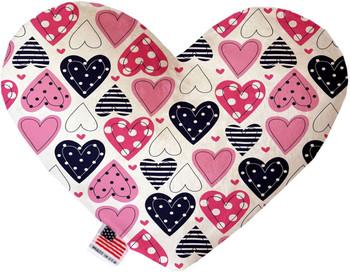 Heart Dog Toy -  Mixed Hearts, 2 Sizes