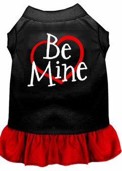 Be Mine Screen Print Dog Dress -More Colors