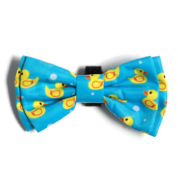 Rubber Duckie Pet Dog Bow Tie