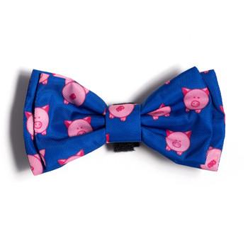 Wilbur Pig Pet Dog Bow Tie