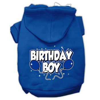 Birthday Boy Balloons Dog Hoodie
