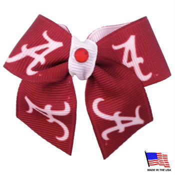 Alabama Crimson Tide Pet Hair Bow