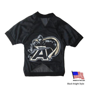Army Black Knights Athletic Mesh Pet Jersey - XL - Black Knight