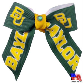 Baylor Bears Pet Hair Bow
