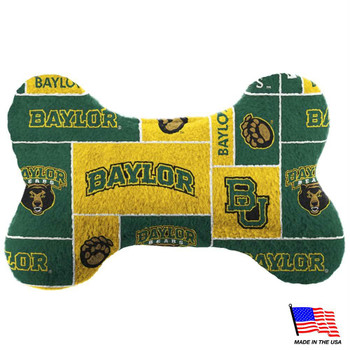 Baylor Bears Plush Bone Toy