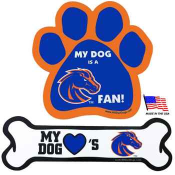 Boise State Car Magnets