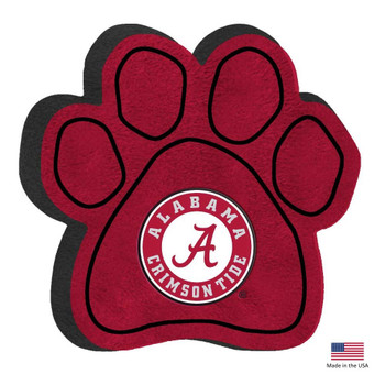 Alabama Crimson Tide Paw Squeak Toy