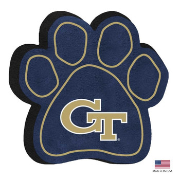 Georgia Tech Paw Squeak Toy
