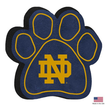 Notre Dame Fighting Irish Paw Squeak Toy