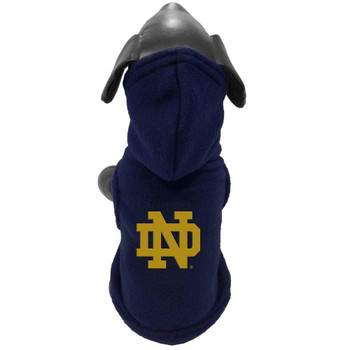Notre Dame Fighting Irish Polar Fleece Pet Hoodie - Large