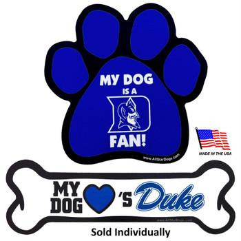 Duke Blue Devils Car Magnets