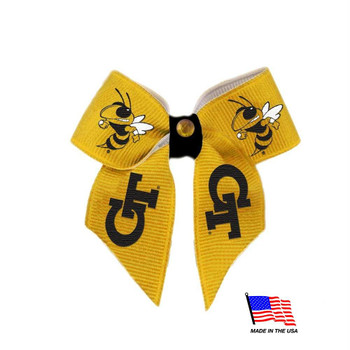 Georgia Tech Pet Hair Bow
