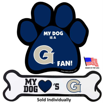 Georgetown Hoyas Car Magnets