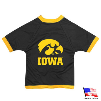 Iowa Hawkeyes Athletic Mesh Pet Jersey