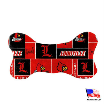 Louisville Cardinals Plush Bone Toy