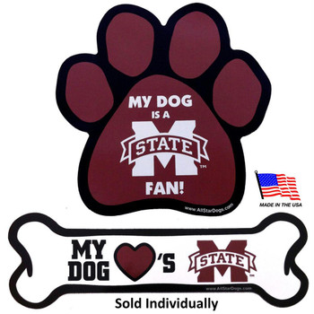 Mississippi State Car Magnets