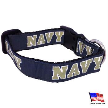 Navy Midshipmen Pet Collar