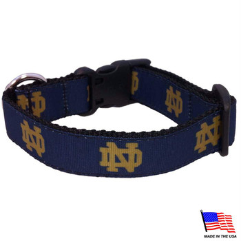 Notre Dame Fighting Irish Pet Collar