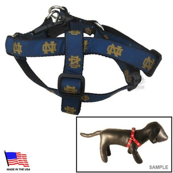 Notre Dame Fighting Irish Pet Harness