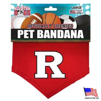 Rutgers Scarlet Knights Pet Bandana
